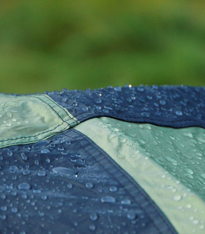 Rain and Dew on Tent which creates mold